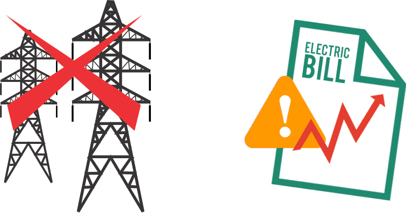 Problem of High Electricity Bill and Power Cuts